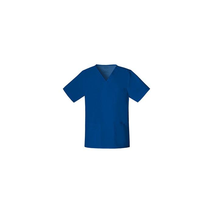Halat medical unisex V-Neck Galaxy Blue