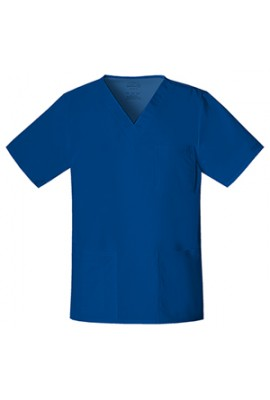 Halat medical unisex V-Neck Galaxy Blue