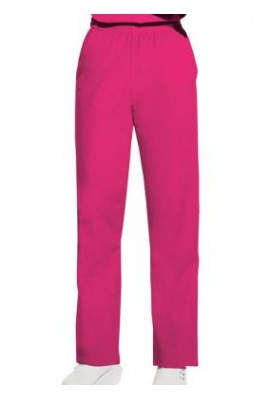 Pantaloni Dama Pull on in Shocking Pink
