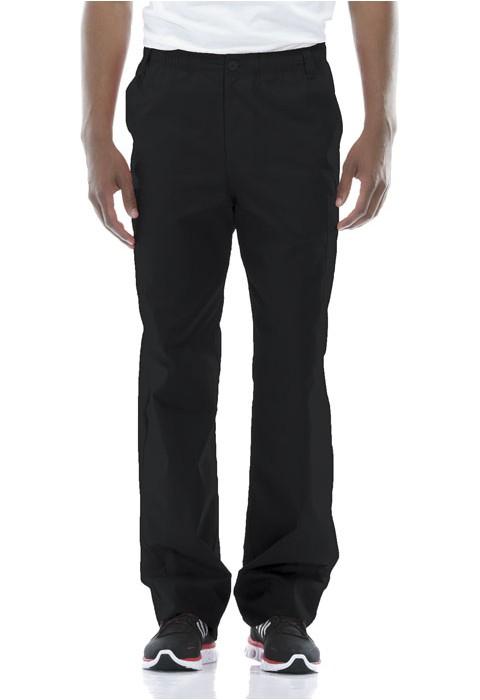 Pantaloni barbati cu fermoar Pull On in Black