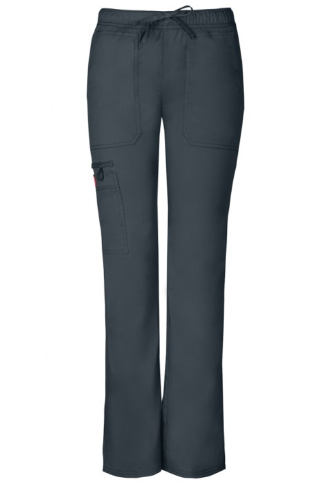 Pantaloni dama cu talie joasa slim Pewter