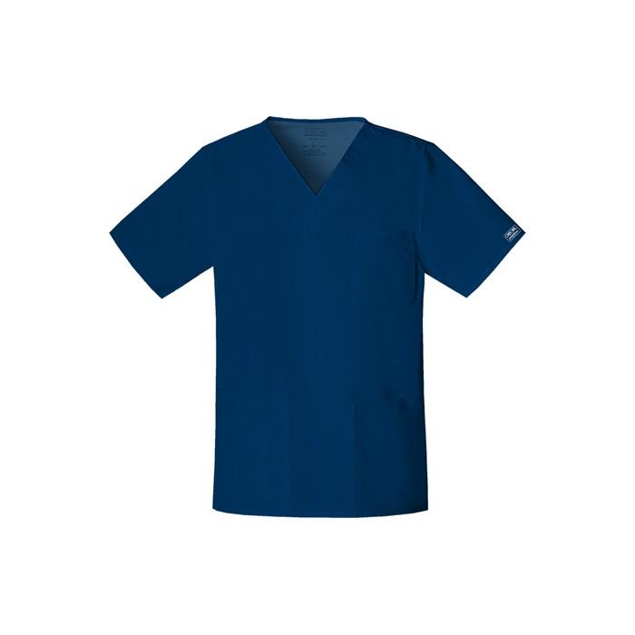 Halat medical unisex V-Neck Navy