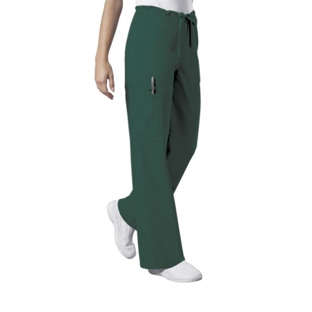 Pantaloni unisex Drawstring in Hunter Green