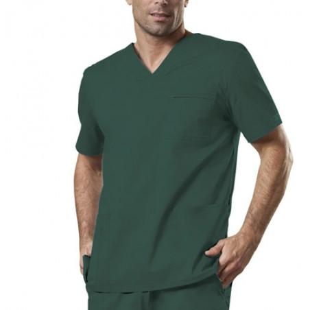 Halat medical V-Neck Hunter Green