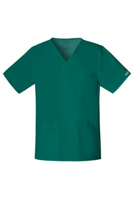 Halat medical V-Neck Hunter Green