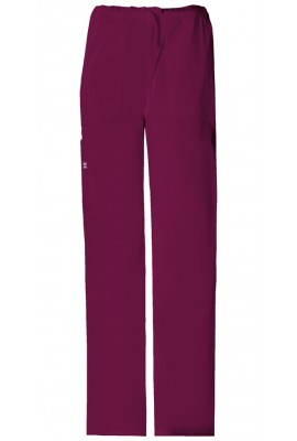 Pantaloni unisex Drawstring in Wine