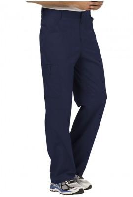 Pantaloni medicali barbatesti flexibili Navy