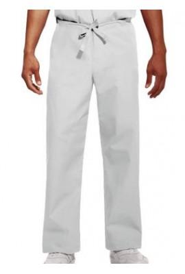 Pantaloni Unisex White