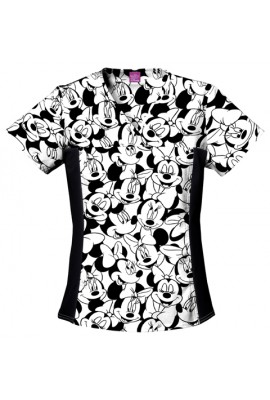 Halat medical V-Neck in Big Minnie