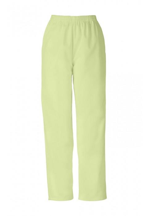 Pantaloni Dama Pull on in Celadon