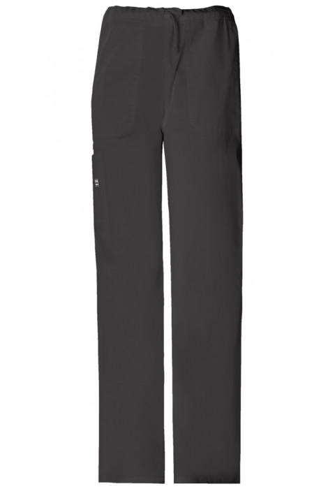 Pantaloni unisex drawstring Black
