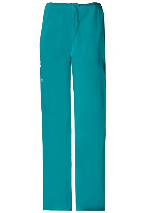 Pantaloni unisex drawstring Teal Blue