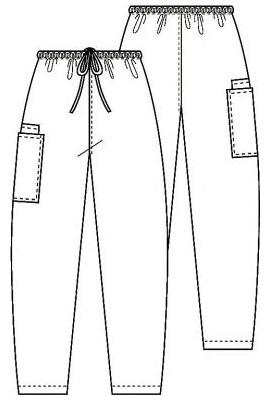 Pantalon Unisex Mali-Blu