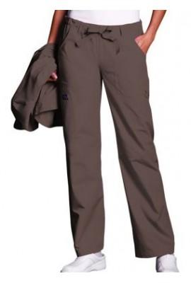 Pantaloni Dama Drawstring in Taupe