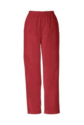 Pantaloni Pull on in Red
