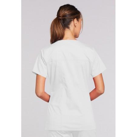Halat medical V-Neck Core strech alb