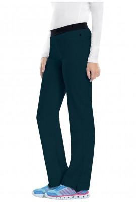 Pantaloni antimicrobieni cu talie joasa Carribean Blue