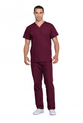 Costum medical unisex Cherokee Workwear Wine