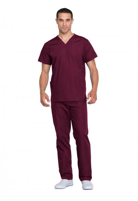 Costum medical unisex Cherokee Workwear Wine