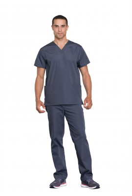 Costum medical unisex Cherokee Workwear Pewter