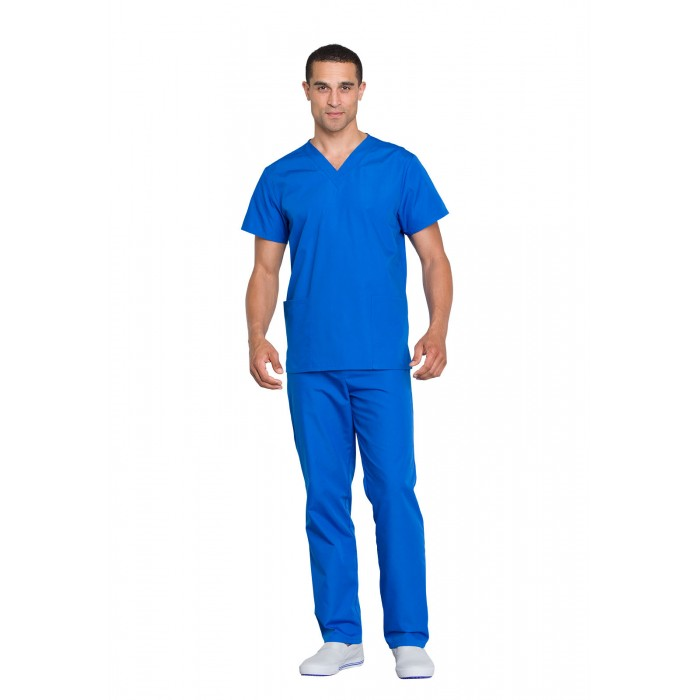 Costum medical unisex Cherokee Workwear Albastru Royal