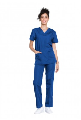 Costum medical unisex Cherokee Workwear Albastru Royal