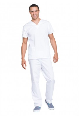 Costum medical unisex Cherokee Workwear White