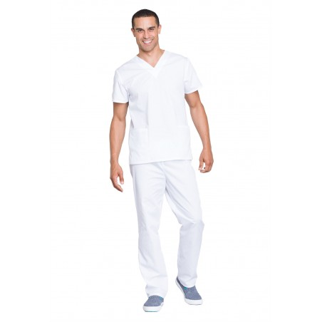 Costum medical unisex Cherokee Workwear White