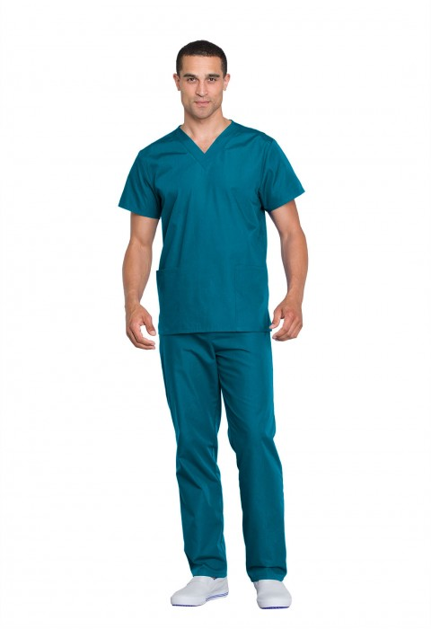 Costum medical unisex Cherokee Workwear Carribean Blue