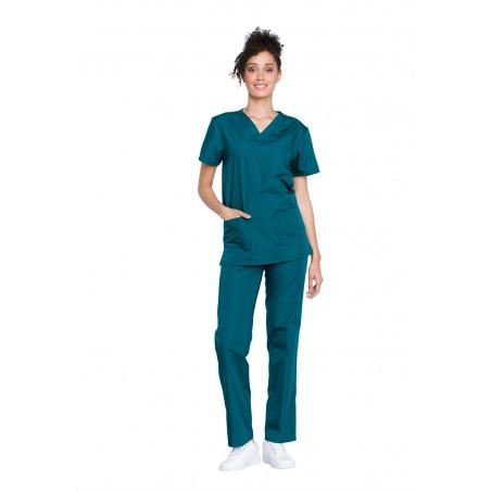 Costum medical unisex Cherokee Workwear Carribean Blue