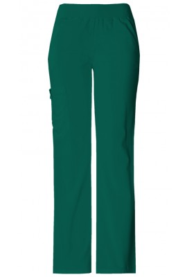 Pantaloni Dama Cargo Pocket in Hunter Green