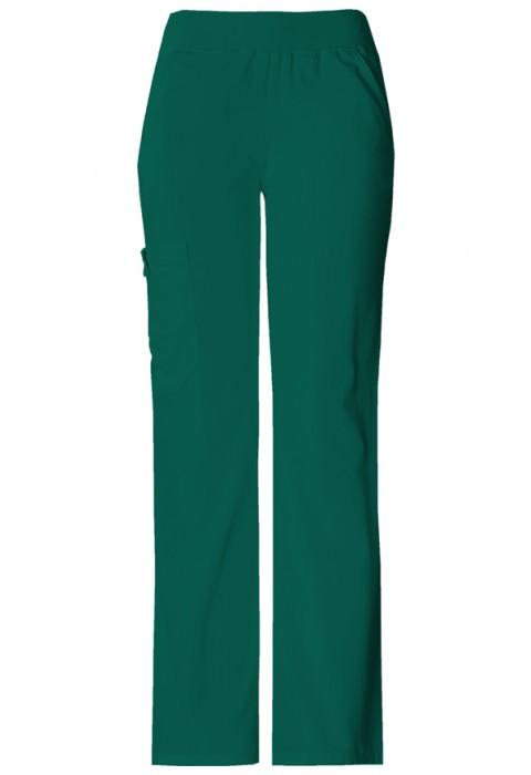 Pantaloni Dama Cargo Pocket in Hunter Green