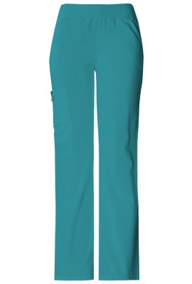 Pantaloni Dama Cargo Pocket in Teal Blue