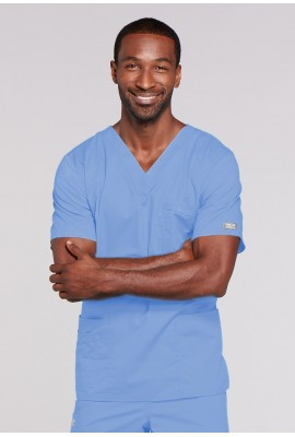 Halat medical V-Neck Ciel