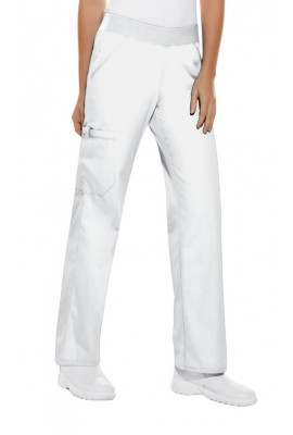 Pantaloni dama Cargo Pocket in White