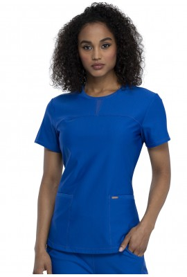 Halat Medical Round Neck Royal