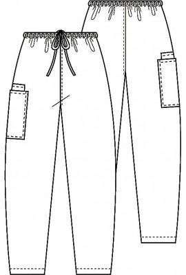 Pantaloni unisex Royal