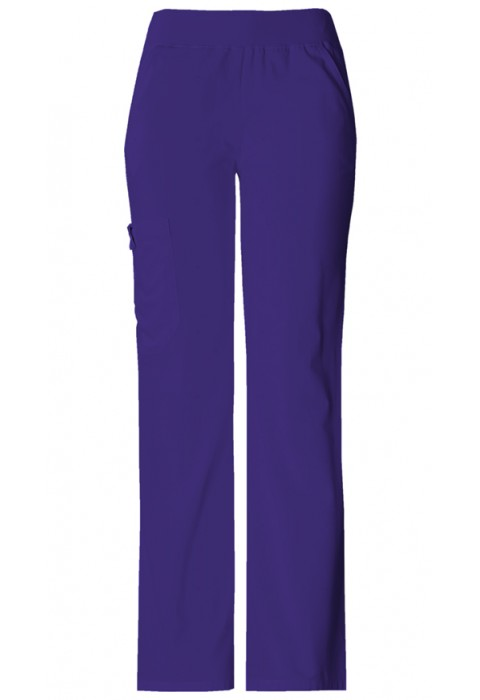 Pantaloni Dama Cargo Pocket in Grape