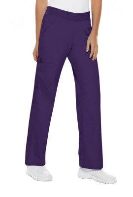 Pantaloni Dama Cargo Pocket in Grape