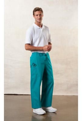 Pantaloni unisex Teal Blue