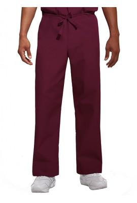 Pantaloni unisex Wine