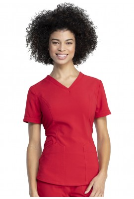 Halat medical Dickies slim Red