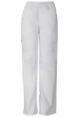 Pantaloni barbati cu fermoar Pull On in White