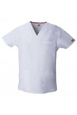 Halat medical V-Neck in White