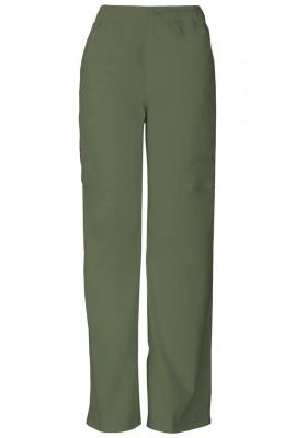 Pantaloni barbati cu fermoar Pull On in Olive
