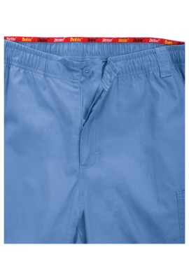 Pantaloni medicali cu fermoar si elastic Navy