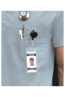 Halat medical V-Neck Navy