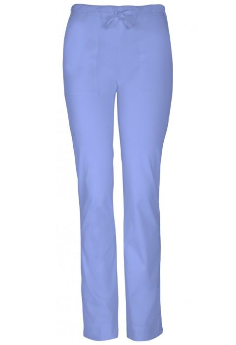Pantaloni medicali slim cu talie medie Ciel