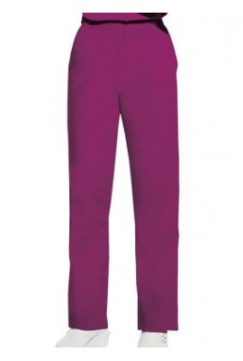 Pantaloni Dama Pull on in Azalea
