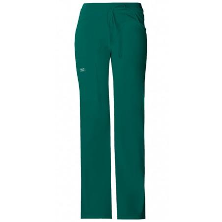 Pantaloni cu talie joasa drawstring Hunter Green